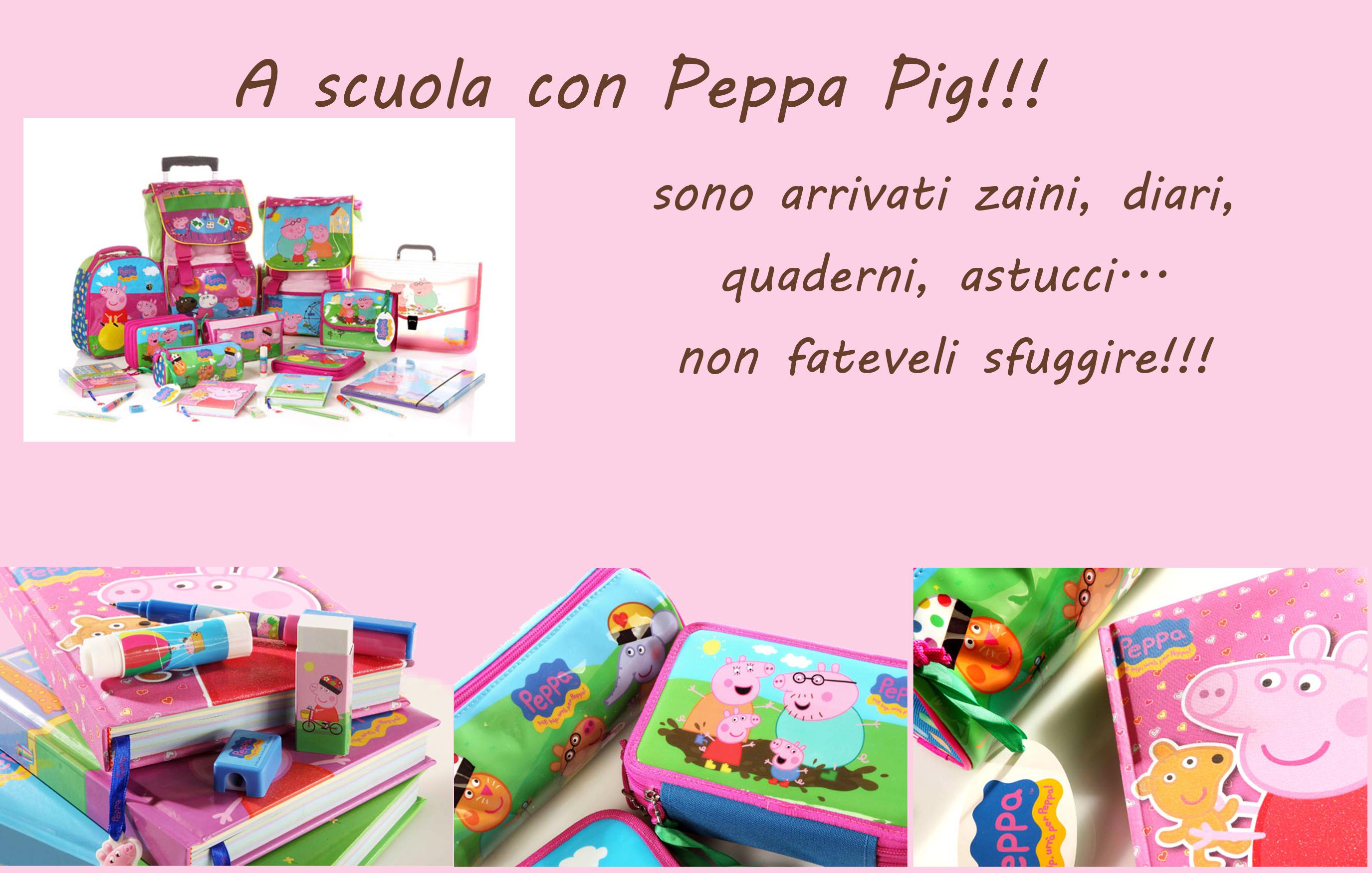 A Scuola Con Peppa Pig Libreria Mirtillo Montichiari